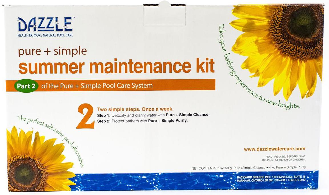 Pure & Simple Summer Maintenance Kit